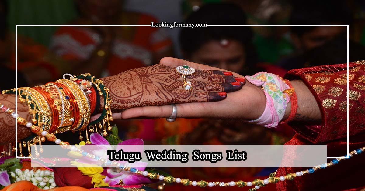 Telugu Wedding Songs List