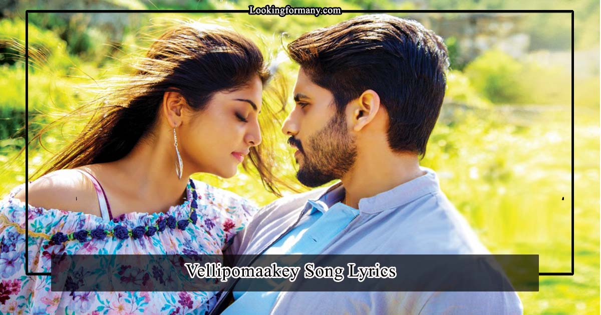 vellipomaakey song lyrics in telugu