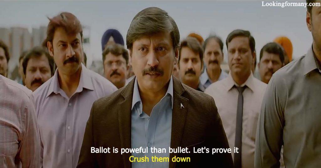 Ballot is poweful than bullet. Let's prove it.