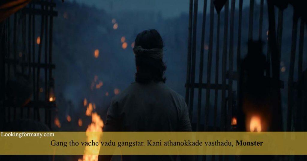 Gang tho vache vadu gangstar - kgf dialogues lyrics in telugu