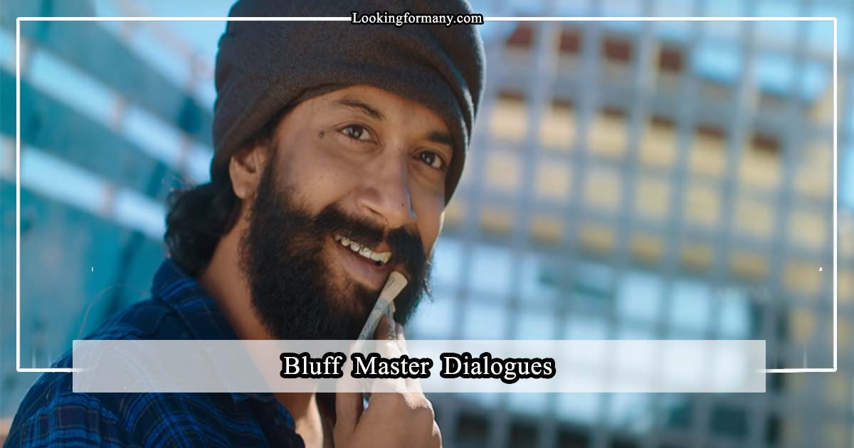 bluff master dialogues lyrics in telugu