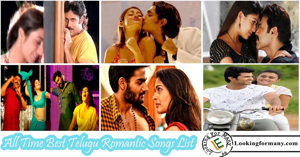All Time Best Telugu Romantic Video Songs List