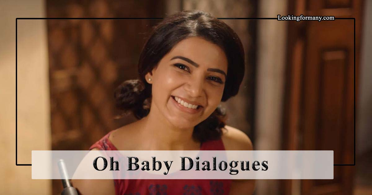 Oh Baby Movie Dialogues Lyrics in Telugu with Images