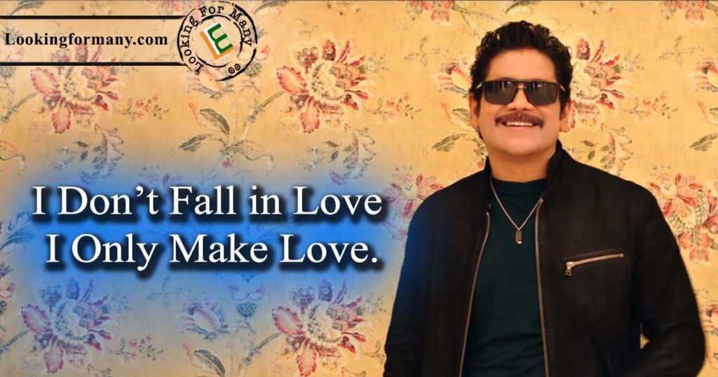 I don't fall in Love. I only make Love. - manmadhudu 2 dialogue 4