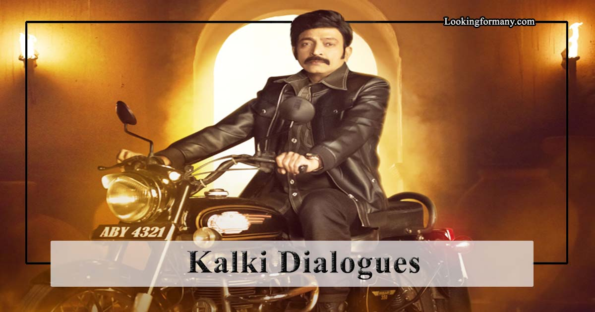 Kalki Movie Dialogues Lyrics in Telugu with Images